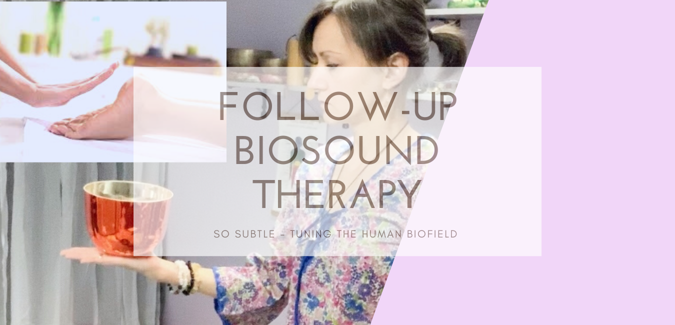 follow up biosound therapy